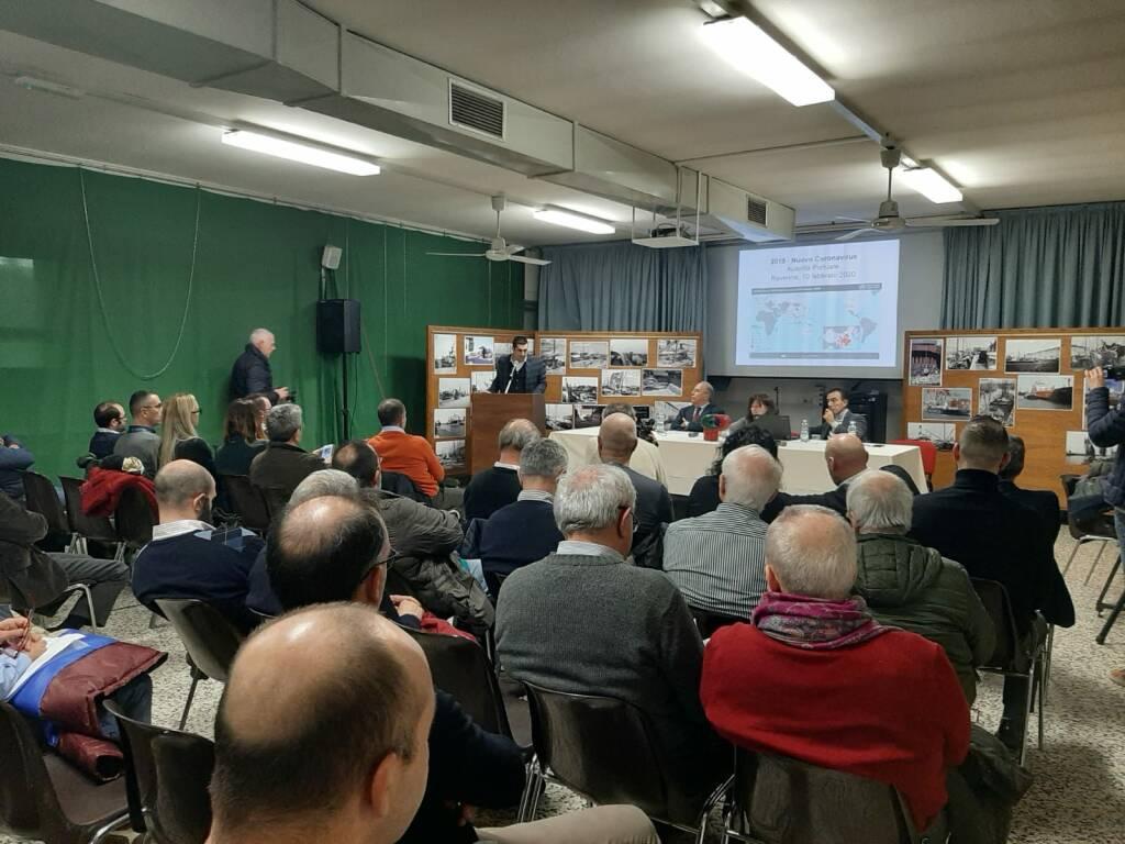 incontro portuali su coronavirus - Porto di Ravenna