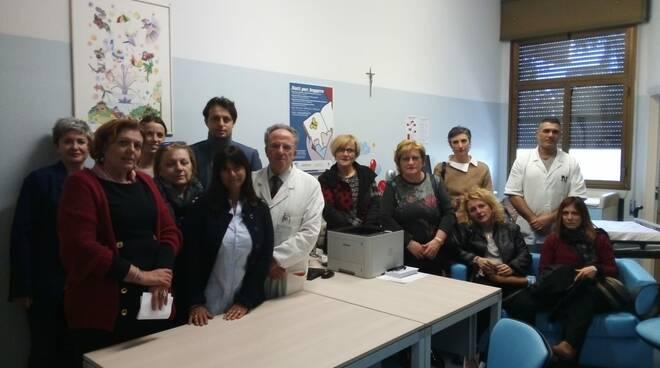 Nuovi arredi alla Pediatria di Ravenna grazie alla generosità di un gruppo di cittadini