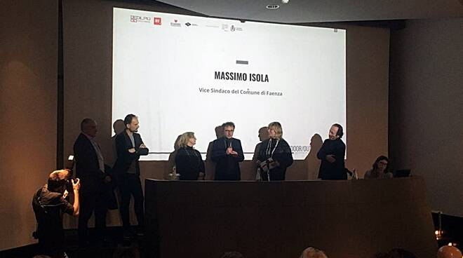 """Serata sull'architettura al Mic di Faenza: premiati i vincitori del contest """"Living outdoor"""""""