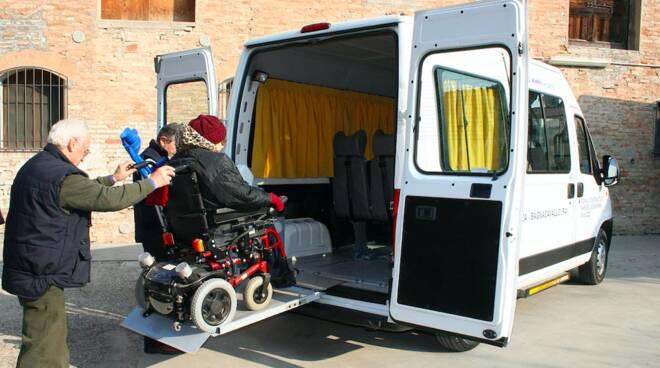 trasporto seggi disabili