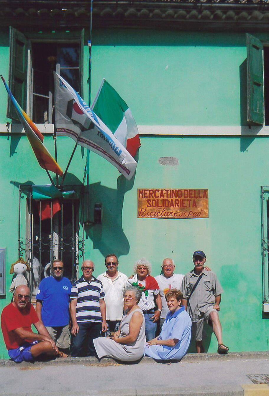 Villanova di Bagnacavallo_Mercatino solidarietà