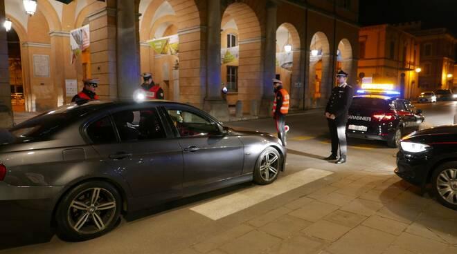 carabinieri Rimini - controlli su strada Coronavirus