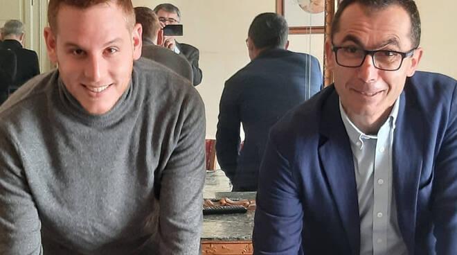 Nicola Dal Monte e Luca della Godenza