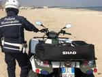Polizia_Controllo spiaggia quad