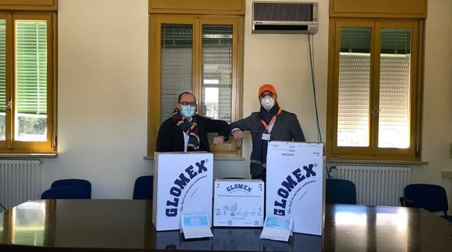 Glomex dona 3.000 mascherine all'Ospedale Santa Maria delle Croci di Ravenna