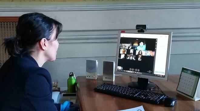 Bagnacavallo videoconferenza