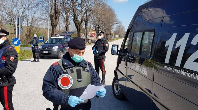 carabinieri Novafeltria controlli anticovid