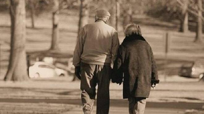 coppia di anziani - repertorio