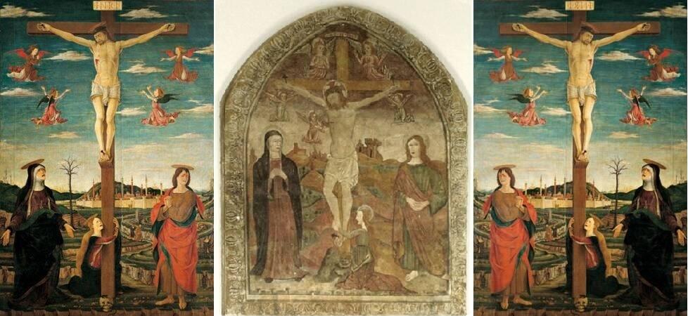 Vicino da Ferrara e l'affresco di Montegridolfo