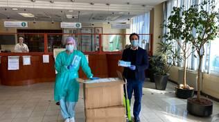 donazione 10 mila mascherine Gruppo MEDOC