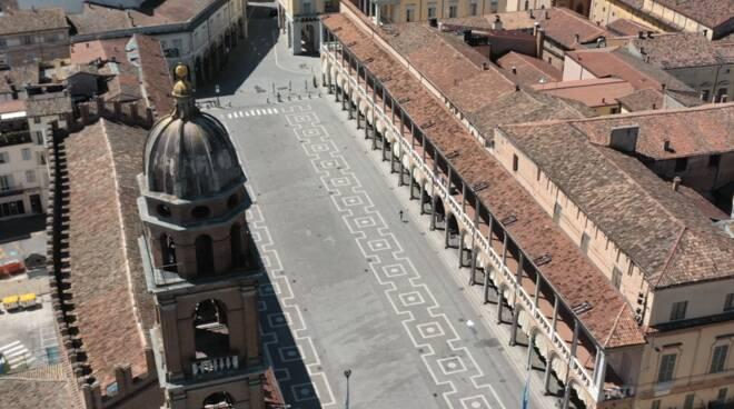 Faenza veduta aerea