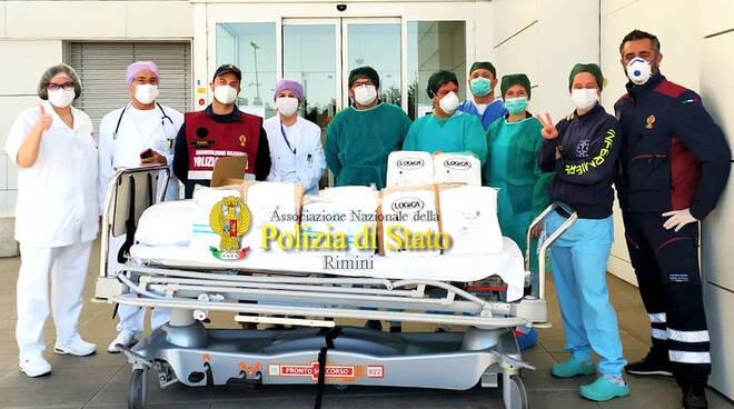 Rimini_Ospedale_Polizia