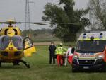 Incidente in moto su Via Raspona ad Alfonsine: interviene l'elimedica