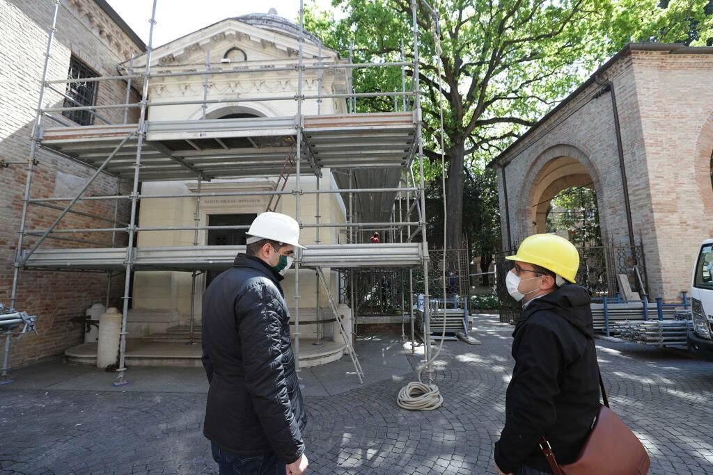 Restauro Tomba Dante