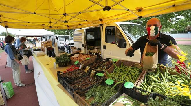Torna un po' di normalità: a Ravenna ha riaperto il mercato contadino