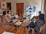 video conferenza tavolo imprenditoria Bassa Romagna