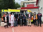 ambulanza donata da artista MuKy