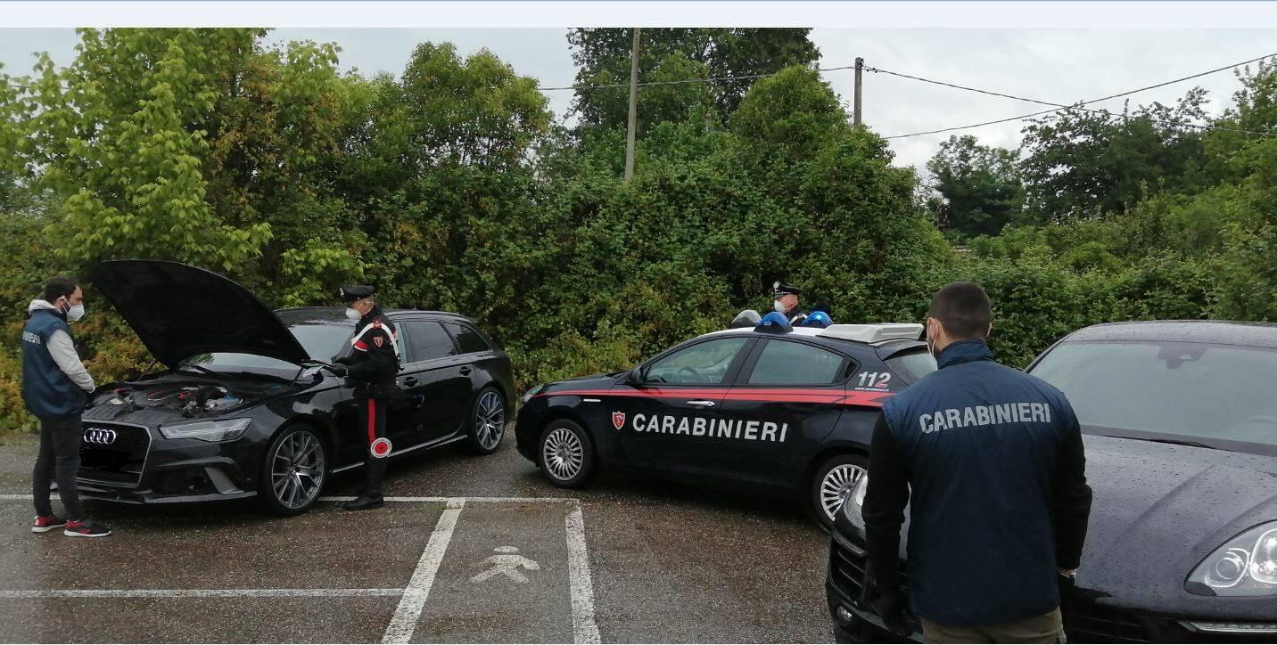 carabinieri Rimini Operazione Supercar