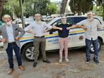 Cento visiere protettive in dono alla Protezione Civile comunale di Rimini