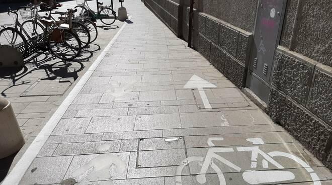 Cesena strada pedonale