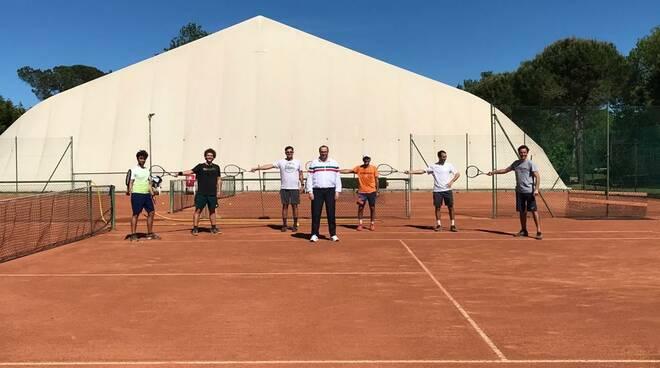 Circolo Tennis Cervia: ripresi gli allenamenti per i giocatori di vertice