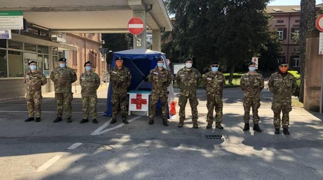 Croce Rossa Covid Hospital Lugo  - coronavirus