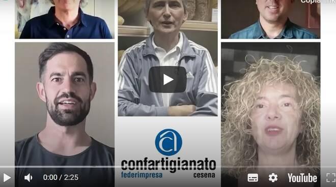 """Il video-collage di Confartigianato Cesena per la ripartenza: """"Qualunque cosa riservi il futuro vi aiuteremo"""""""