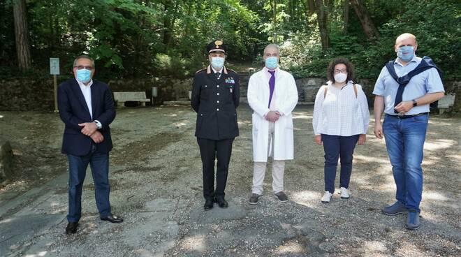 La consigliera regionale Manuela Rontini visita le Terme di Riolo