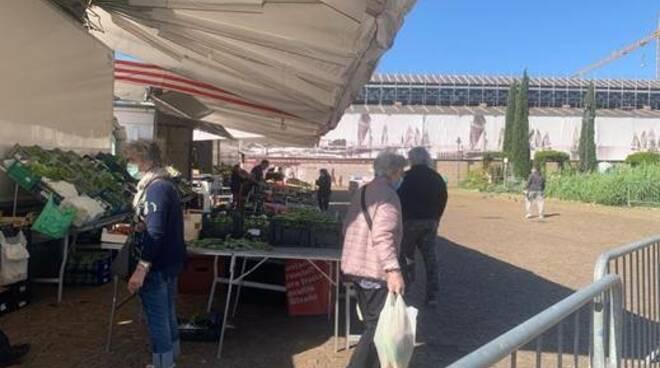 mercato alimentare Cervia - Coronavirus