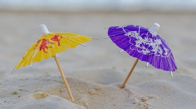 ombrellini spiaggia