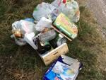 quartiere Romiti - rifiuti abbandonati 2020