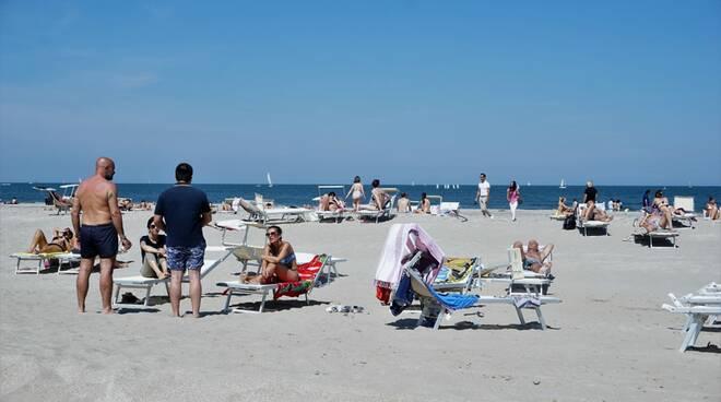 Riapertura spiagge: ecco com'è andato il primo weekend nel cervese