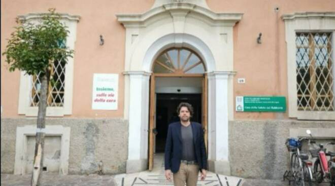 sindaco Giovannini - casa della Salute