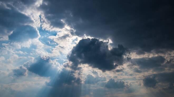 sole nuvole cielo meteo