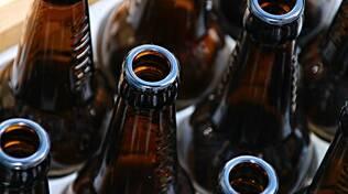 bottiglie birra alco vetro