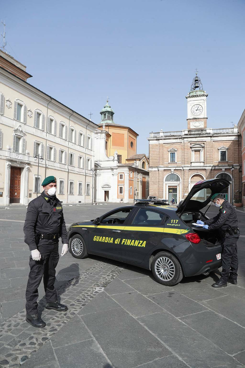 Celebrazioni del 246° anniversario della Guardia di Finanza a Ravenna