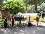 Cervia Città Giardino: l'aiuola di Bagnacavallo