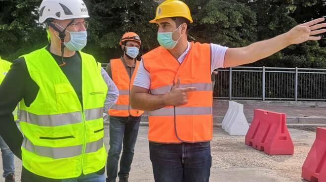 demolizione ponte teodorico - Bonaccini e De Pascale
