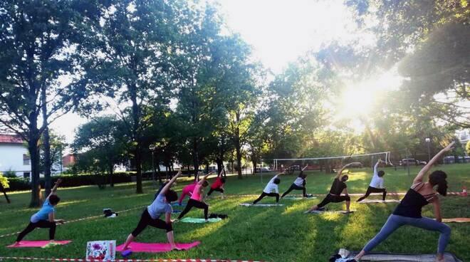Ginnastica e yoga, karate e zumba: al via le attività sportive nei parchi di Bagnacavallo