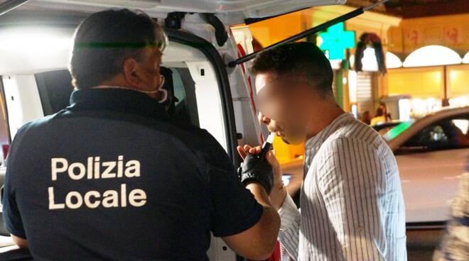 guida in stato d'ebbrezza - controlli Polizia Rimini