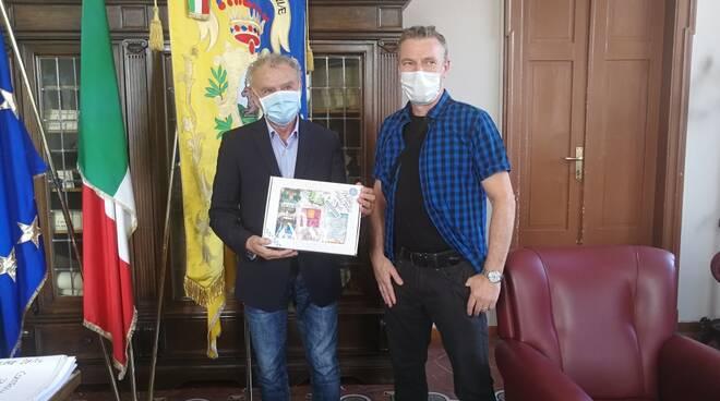 Il Sindaco di Cervia ha incontrato Marco Zugliani,medaglia d'oro alle Olimpiadi di cucina artistica