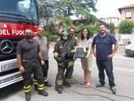 Lugo. Volontari e Vigili del fuoco salvano gattino: era rimasto intrappolato nel motore di un'auto