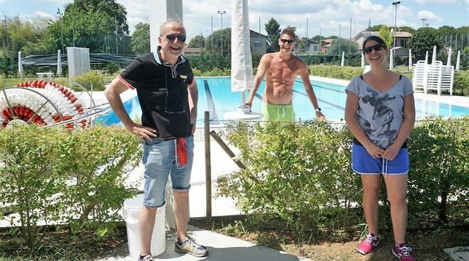 Riparte la piscina estiva di Russi. Il Presidente Carboni