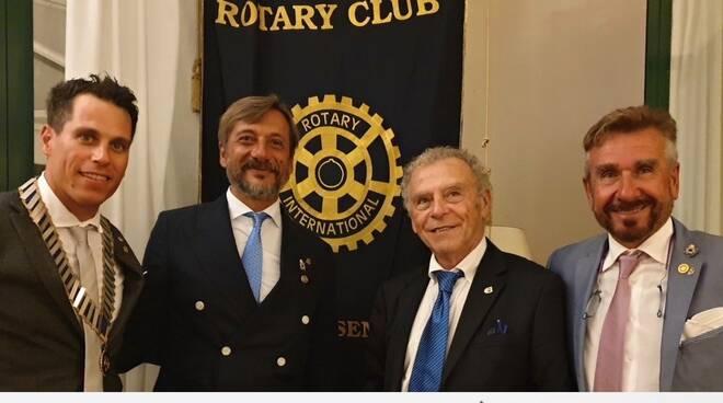 Rotary Club Cervia-Cesenatico: passaggio di testimone da Raffi ad Alberti