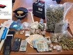 Ufficialmente disoccupati, in casa allestiscono un piccolo supermarket della droga: 2 ravennati in manette