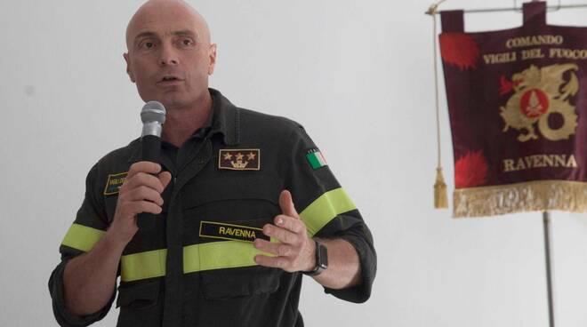 Vigili del Fuoco di Ravenna, cambio al vertice: è Luca Manselli il nuovo comandante