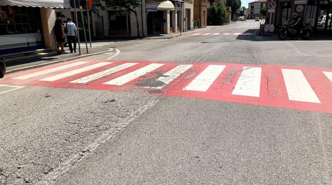Conselice: al viai lavori di rifacimento del manto stradale su via Selice Vecchia