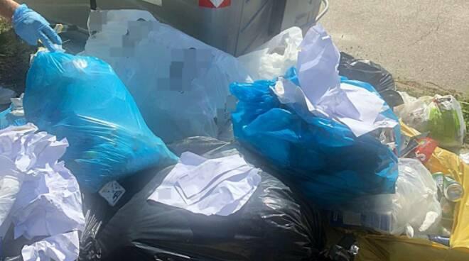 Massa Lombarda_abbandono rifiuti