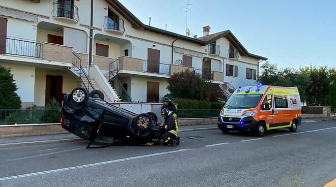 via Chiavica Romea_incidente