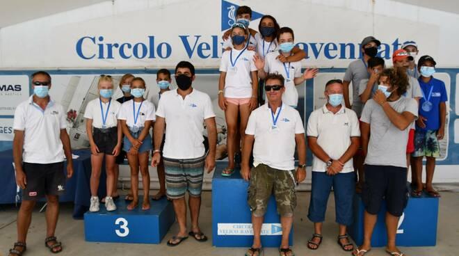 Il Circolo Velico Ravennate domina la Selezione Zonale a squadre della classe Optimist